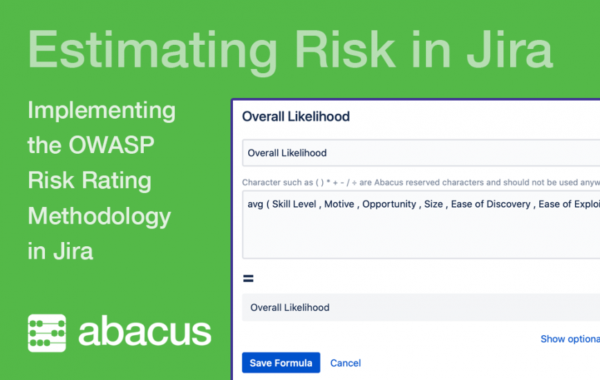 Estimating Risk in Jira